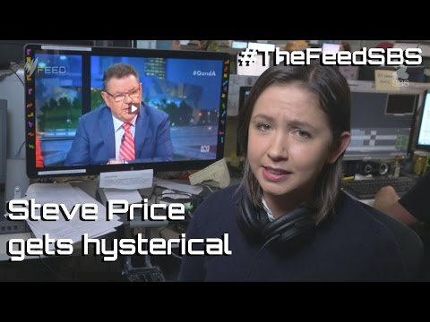 Steve Price gets hysterical - The Feed