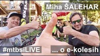 V živo z Mihom Šaleharjem o e-kolesih