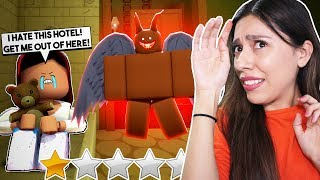 L'HOTEL SCARIEST EN ROBLOX! 'I SAW A GHOST! - Roblox Hotel Stories - A ROBLOX HORROR STORY