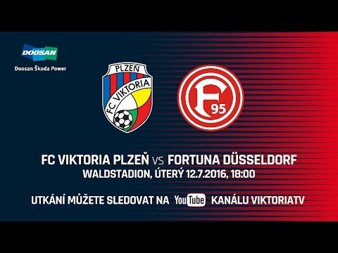 FC Viktoria Plzeň vs Fortuna Düsseldorf 1:1