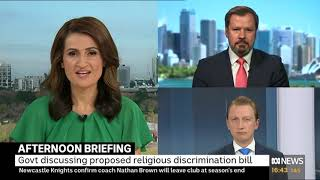 Senator Paterson on ABC's afternoon briefing with host Patricia Karvelas and Ed Husic MP