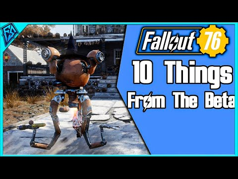 Fallout 76 - 10 Things From The Beta [SPOILERS] thumbnail