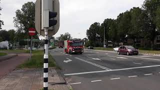 P1 SL 12-2160 HA 12-1082 + SLH 12-1064 Natuurbrand Camping Bloemendaal N200 Zeeweg Overveen.