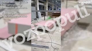 Vídeo del interior del Hospital de Emergencias de la Comunidad de Madrid