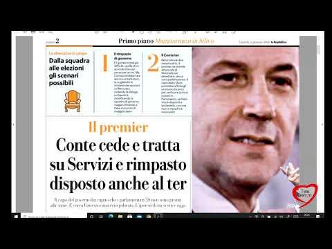 I giornali in edicola - la rassegna stampa 04/01/2021