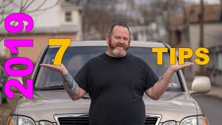 7 Tips for Uber Drivers (2019 edition)