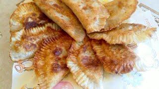 Чебуреки / Чебуреки с мясом / Хрустящие и сочные чебуреки / Необычное тесто