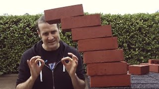 Will You Try The Brick Balancing Challenge? | What's Trending Now!