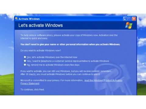 How To Activate Windows XP