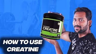 Is creatine is safe ? How to use creatine ? | Creatine for Beginners | Hulk Fitness Studio