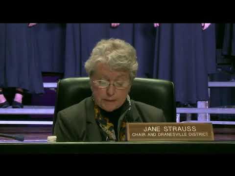 FCPS School Board Meeting - January 25, 2018