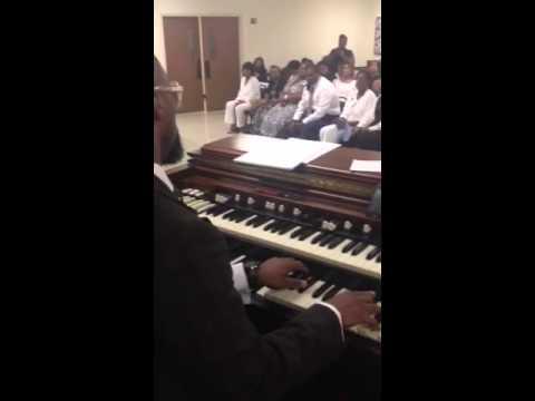 Professor James Hall killing the organ in practice