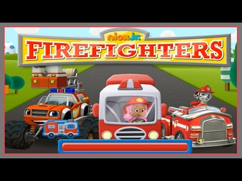 Nick Junior Firefighters - Bubble Guppies, Blaze and the Monster Machines, Paw Patrol!