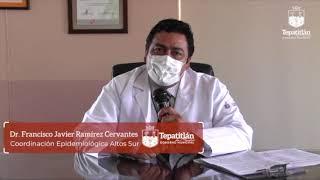 El Dr. Ramírez Cervantes explica el impacto de una pandemia en la humanidad