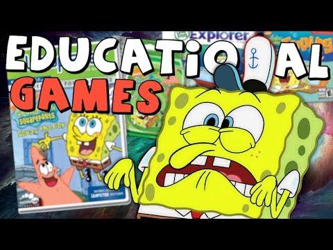 Spongebob's WEIRD Adventures in Educational Games