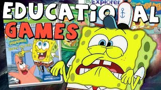 Spongebob's Weird Adventures In Educational Games