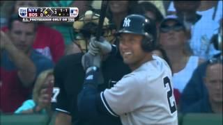 Jeter's Last AB, Final Hit