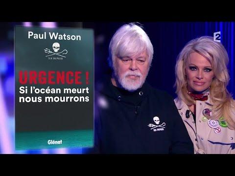 Pamela Anderson & Paul Watson - On n'est pas couché 23 janvier 2016 #ONPC