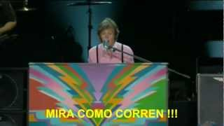 Paul McCartney- Lady Madonna (Zocalo,Mex) Subtitulada Español