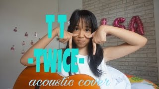 TWICE TT acoustic cover by alsa(14 y.o.)