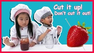 Needles in Strawberries! Let's Support The Farmers By Making Homemade Strawberry Jam!