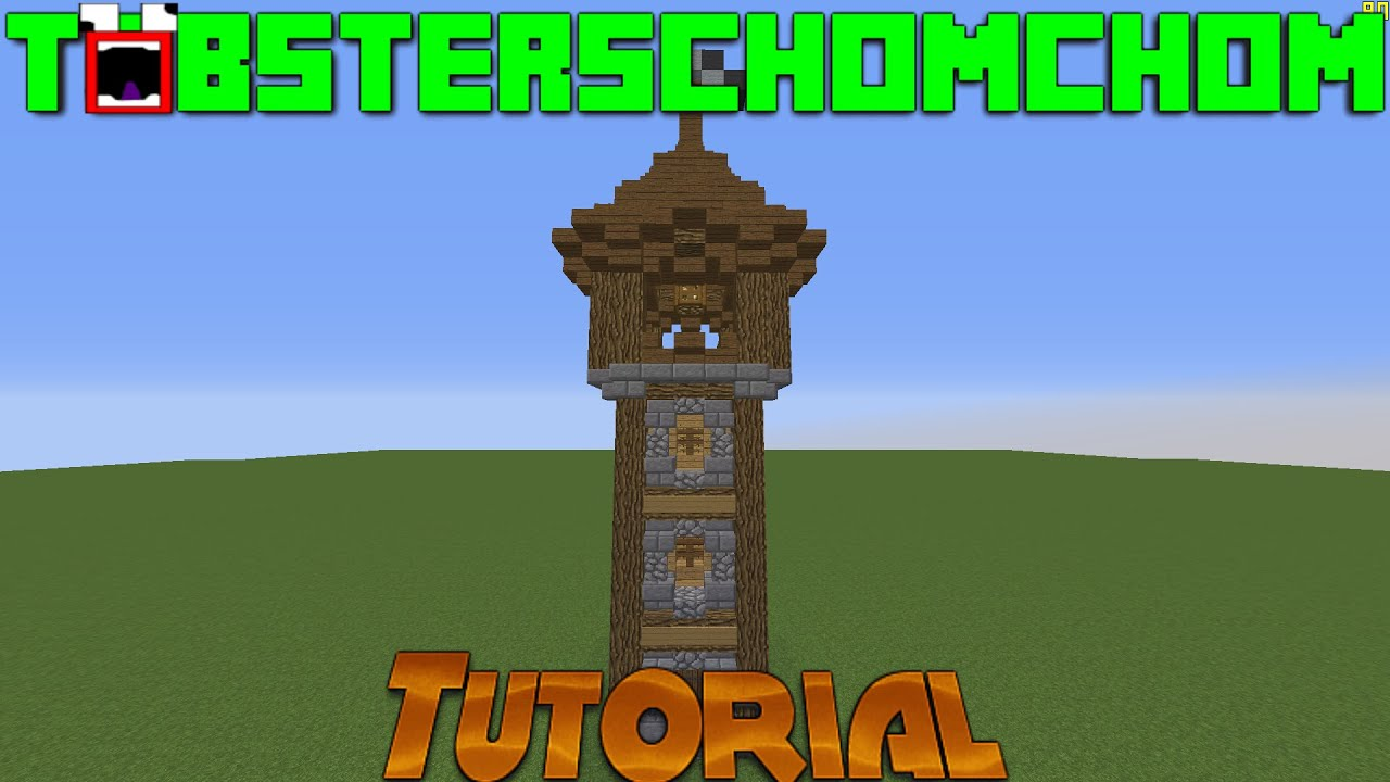 Minecraft Medieval Tower Tutorial - Year of Clean Water