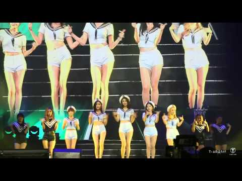 [Fancam] 151024 T-ARA (티아라) - Why are you being like this @ Hefei Concert (6)
