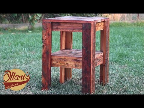 Make a Reclaimed Side Table