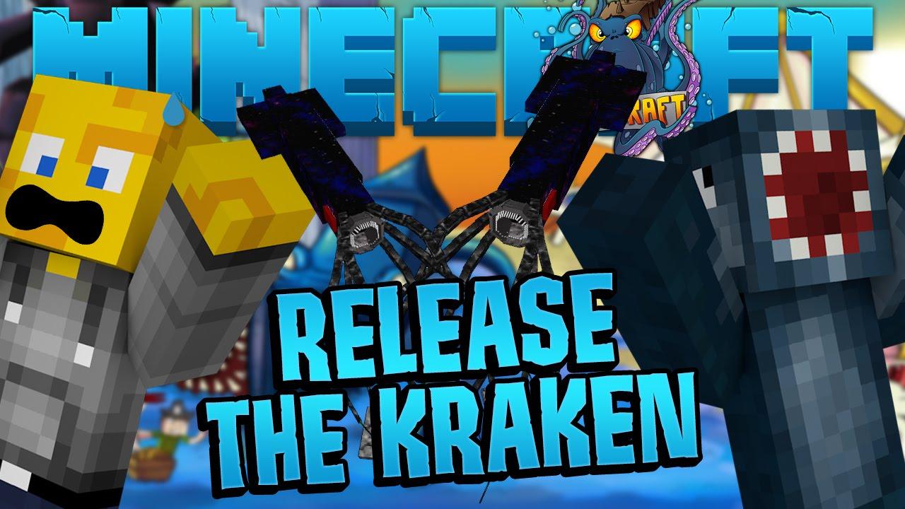 Images Of The Kraken In Crazy Craft