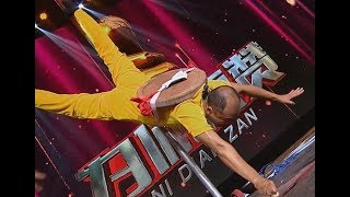 Stunt: One Finger Zen   CCTV English