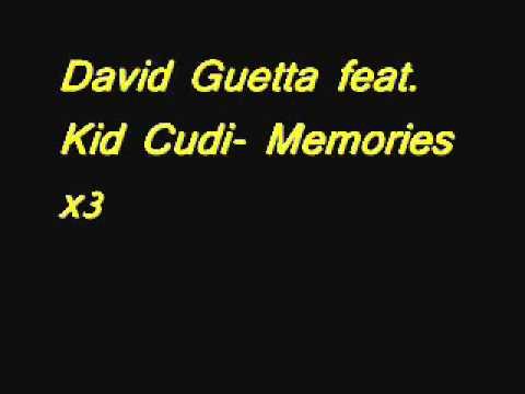 David Guetta feat  Kid Cudi   Memories Clean Version