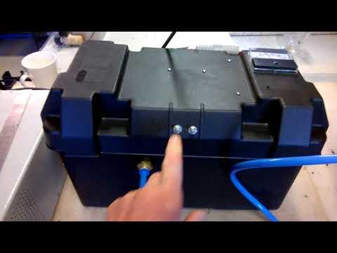 117 Hydrogen generator for Motor Homes n Campervans-save fuel