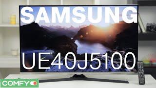 samsung UE40J5100 - телевизор с Full HD дисплеем и цифровыми тюнерами - Видеодемонстрация от Comfy