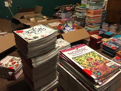 HIT THE MOTHERLOAD! Barnes & Noble Dumpster Finds!