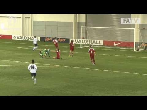 England 4-1 Denmark, U16s Development Tournament