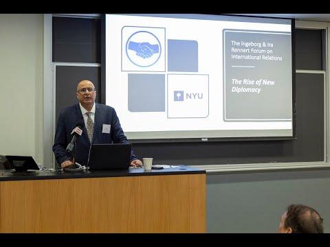 Ido Aharoni Presentation | The Rise of New Diplomacy
