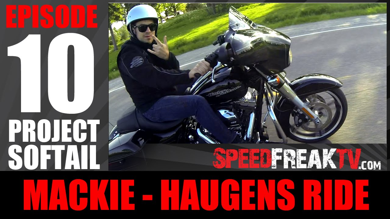 PROJECT SOFTAIL EP10 | MACKIE HARLEY DAVIDSON - HAUGENS RIDE ...