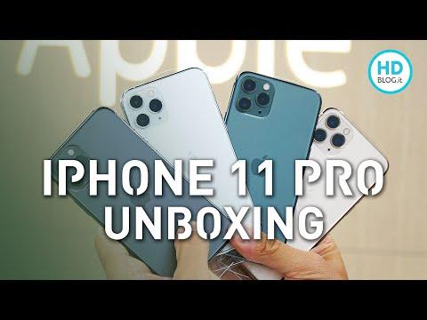 iPhone 11 Pro: unboxing di tutti i colori | Quale preferite?