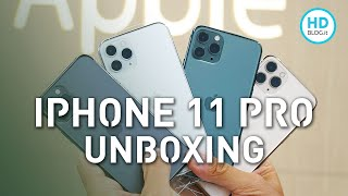 iPhone 11 Pro: unboxing di tutti i colori   Quale preferite?