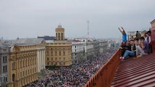 Białoruś - Mińsk: Marsz Nowej Białorusi
