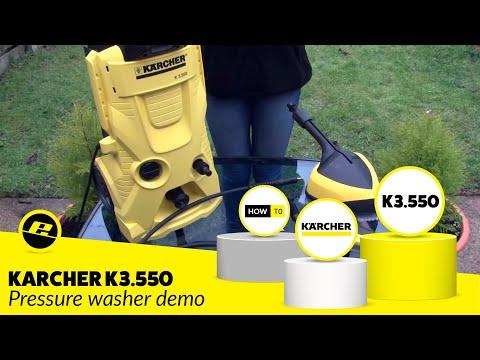 Karcher K3.550 Pressure Washer demo
