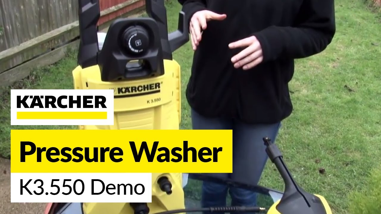 Karcher pressure washer demo youtube - Karcher k7 85 ...