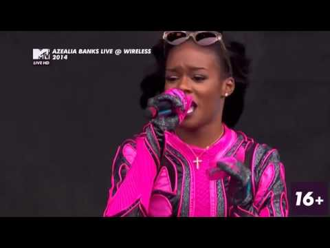 Azealia Banks - Wireless Festival 2014 (FULL SHOW)