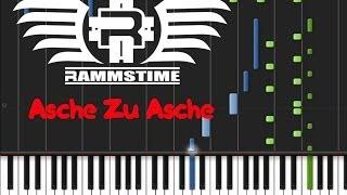 Rammstein - Asche Zu Asche (♫) (ORIGINAL MIDI + Synthesia)