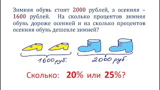 Простая задача вызвала споры ★ Так сколько же: 20% или 25%?