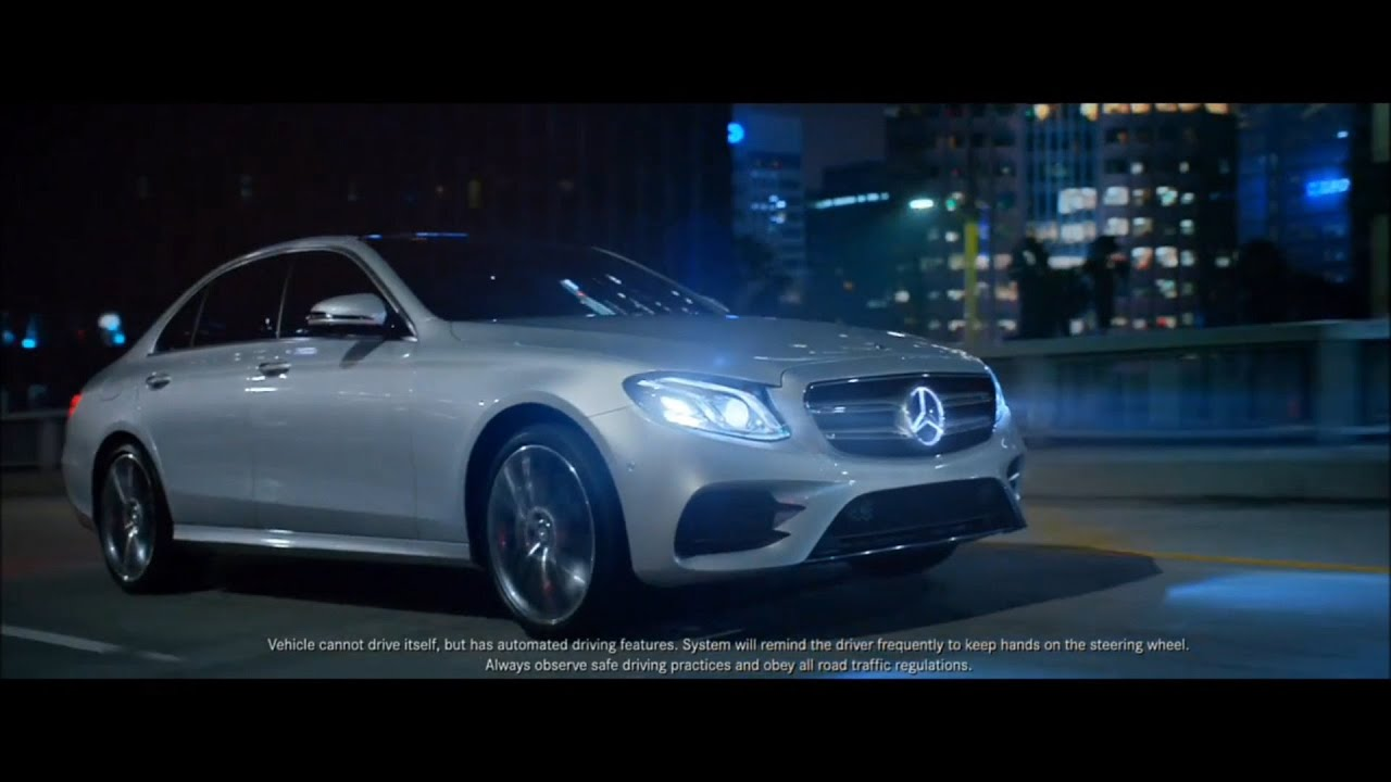 mercedes benz 2017 e class commercials the future and. Black Bedroom Furniture Sets. Home Design Ideas
