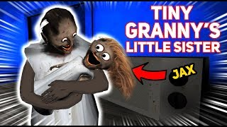 Tiny Granny HAS A BABY SISTER!!! (Jax's Little Sister) | Granny The Mobile Horror Game (Mods)