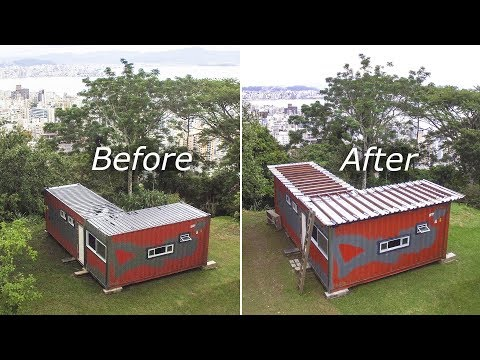 shipping-container-metal-roof-installation-part-2/2---living-tiny-project-ep.-019