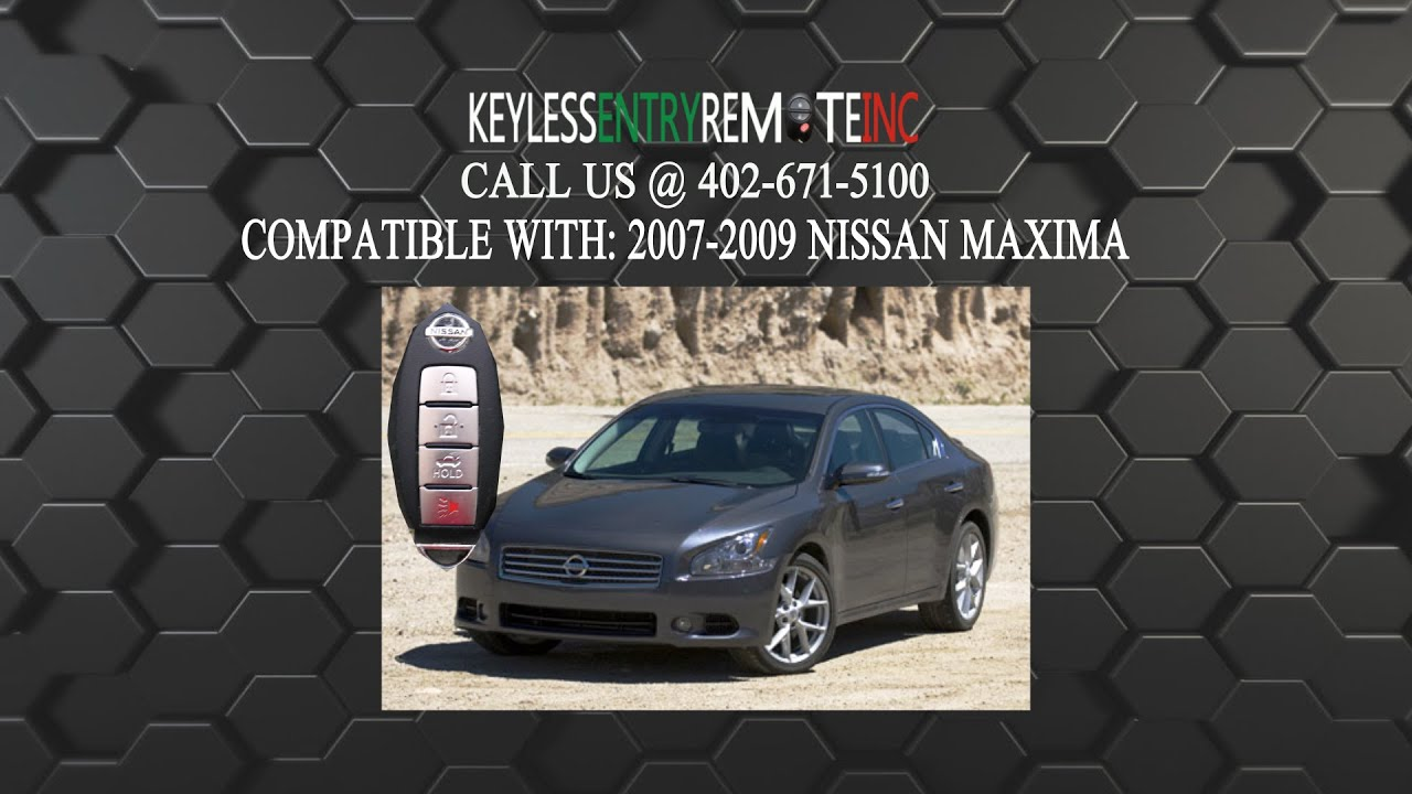 How To Replace Nissan Maxima Key Fob Battery 2007 2008 2009
