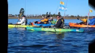 Torneo de Pesca en Kayak Pejerrey 2014 2da Fecha Dique Los Molinos